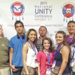 Students enjoy White House tribal event