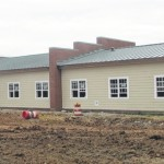Christian center near completion