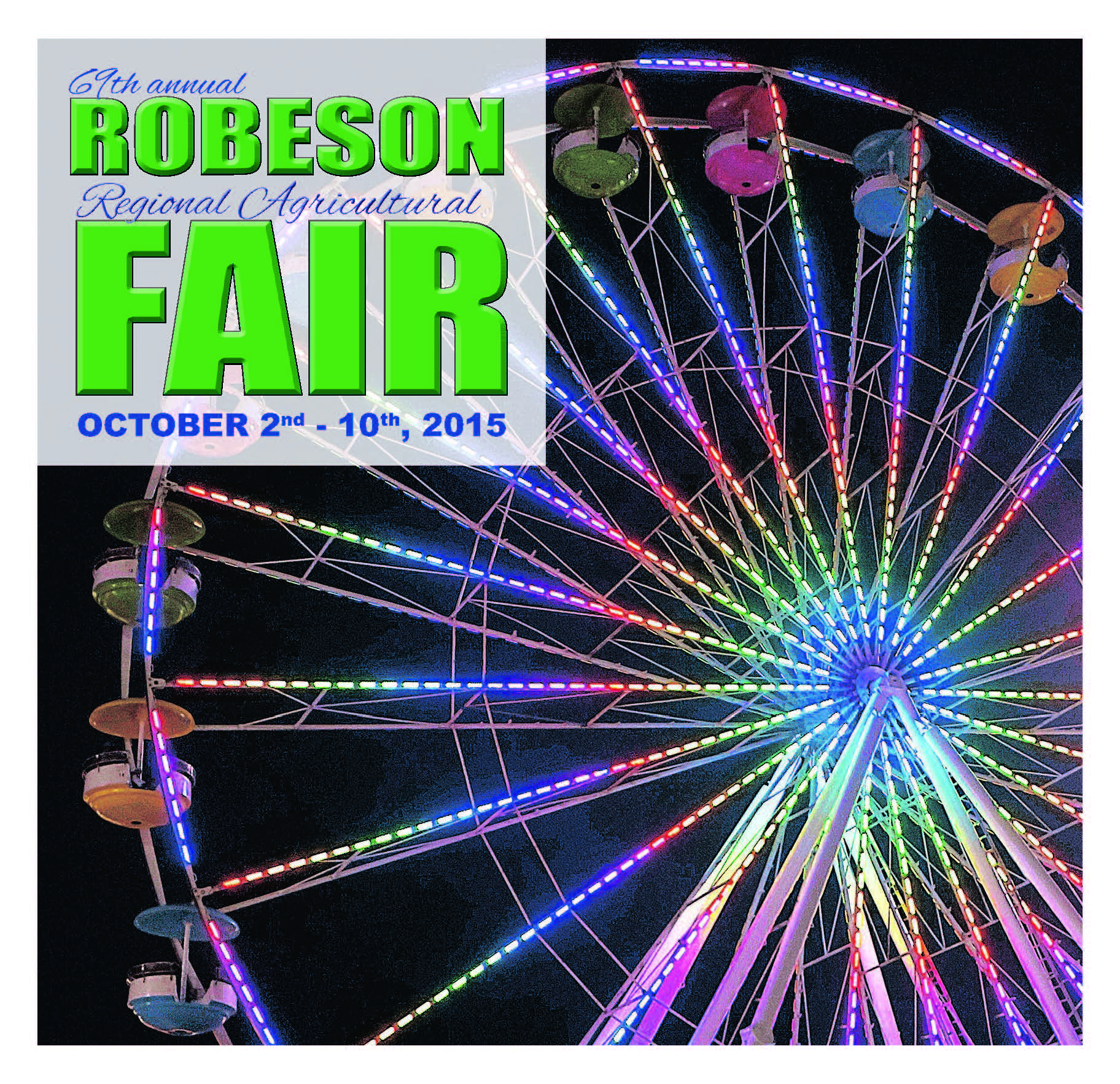 69th Annual Robeson Regional Agricultural Fair