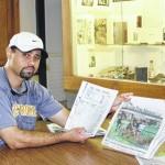 Art lover leaves mark on UNCP's newspaper