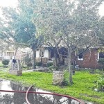 Lumberton home destroyed in fire, owner displaced