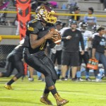Lumberton High School quarterback Braylan Grice finding success in freshman campaign