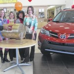 Three names pulled for car giveaway