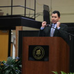 NFL ref talks about his career at UNCP's Cash Bash