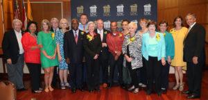 UNCP celebrates the careers of 30 retirees during ceremony