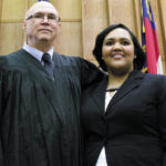 Family court: Lumberton judge swears in lawyer daughter