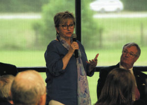 Economics 101: Commerce leaders visit Robeson Community College