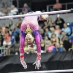 Locklear shines on uneven bars at P&G Championships