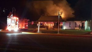 Lumberton thrift store destroyed by fire
