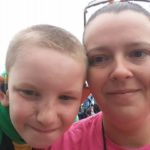 Gavin and Amanda West enjoy a day at the fair.