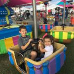 Kamryn and Ethan enjoy a day at the fair.