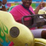 Fairgrove Middle School student Makayla enjoys a day at the fair.