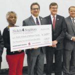 Gaston delivers $5,450 to Robeson schools