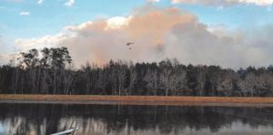 Fires torch 200 acres near St. Pauls