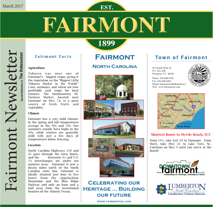Fairmont Newsletter March 2017