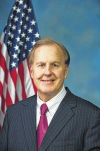 Pittenger: Trump didn't mean an actual wall