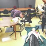 Mock crime scene prepares UNCP students for police work