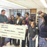 West Lumberton Elementary gets $10K gift to restock library