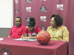 Lumberton's McBride signs with Guilford