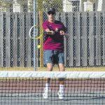 Seniors leading Lumberton tennis team this season