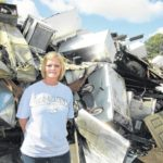 Matthew helps feed recycling business