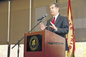 Cooper throws support behind Lumbee recognition