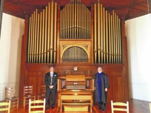 Historic organ sings again at Flora MacDonald College