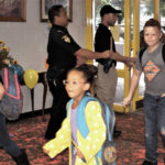 Police encourage students