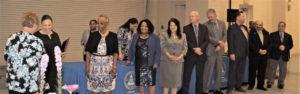 School employees honored