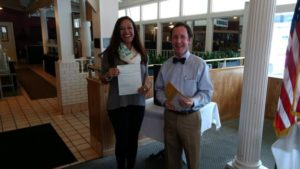 Rotarians gift $1,000 to UNCP